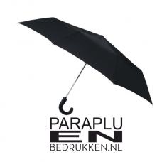Vouwbare paraplu met haak incl. opdruk