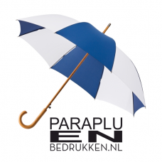 Paraplu met haak 102cm windproof automaat incl. opdruk