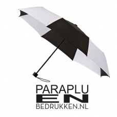 Vouwparaplu windproof 98cm incl. opdruk