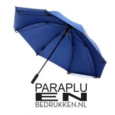 Exclusieve Sheeld paraplu met goot incl. opdruk