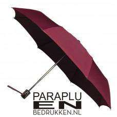 Windproof vouwparaplu 100cm incl opdruk