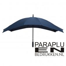 DUO-paraplu windproof 148cm incl. opduk